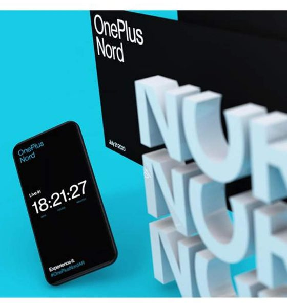 ONEPLUS NORD AR EVENT